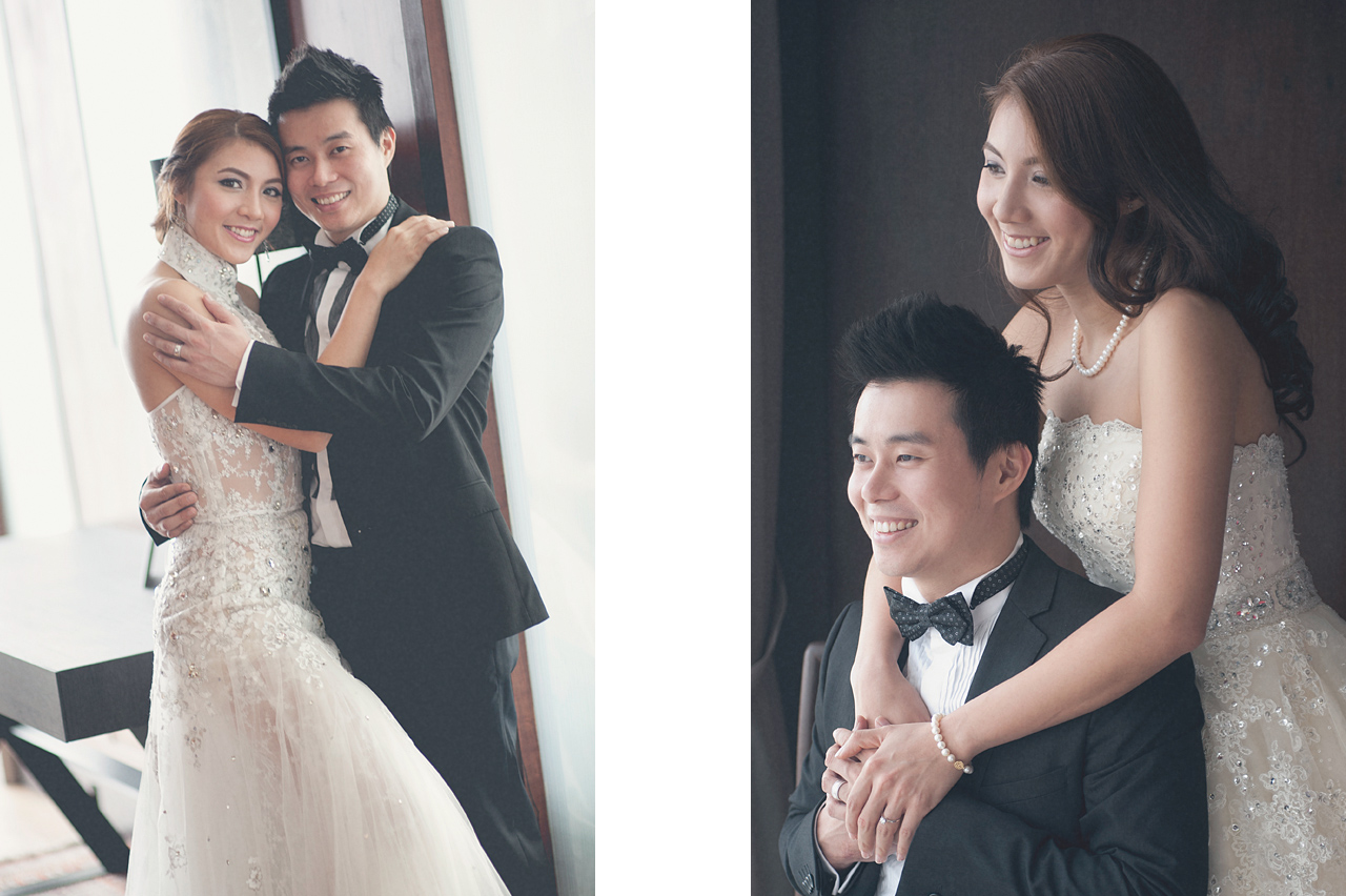 Lin Woon Fui & Delia Arnold prewedding by Glance Photography Studio