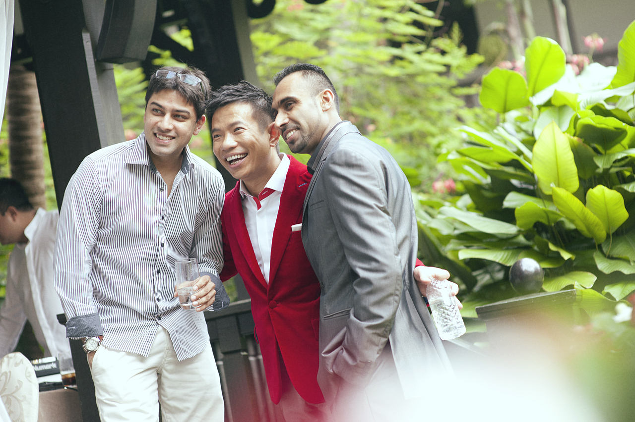 Melvin & Elaine Solemnization Raffles Hotel Singapore