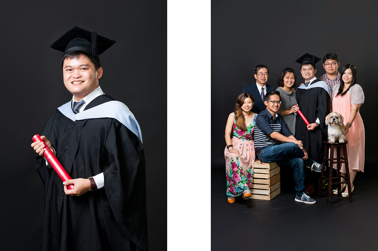 Graduation Portrait Photography Package
