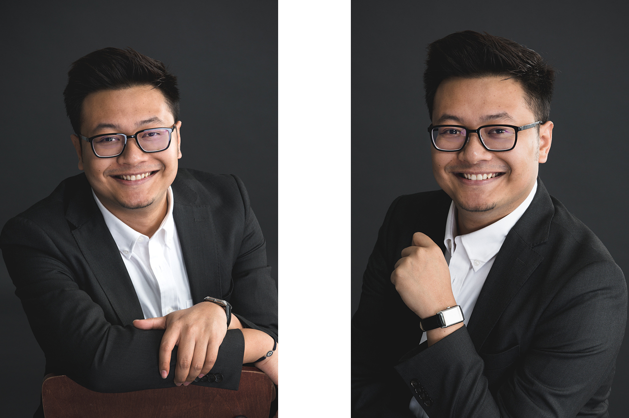 Corporate Portrait by Glance Photography Studio