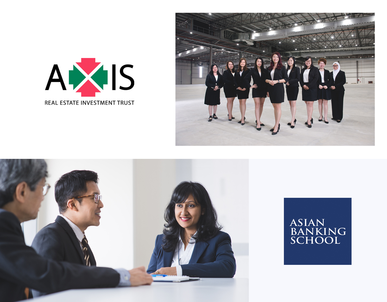 Corporate Portraits for Axis REIT and Asian Banking School