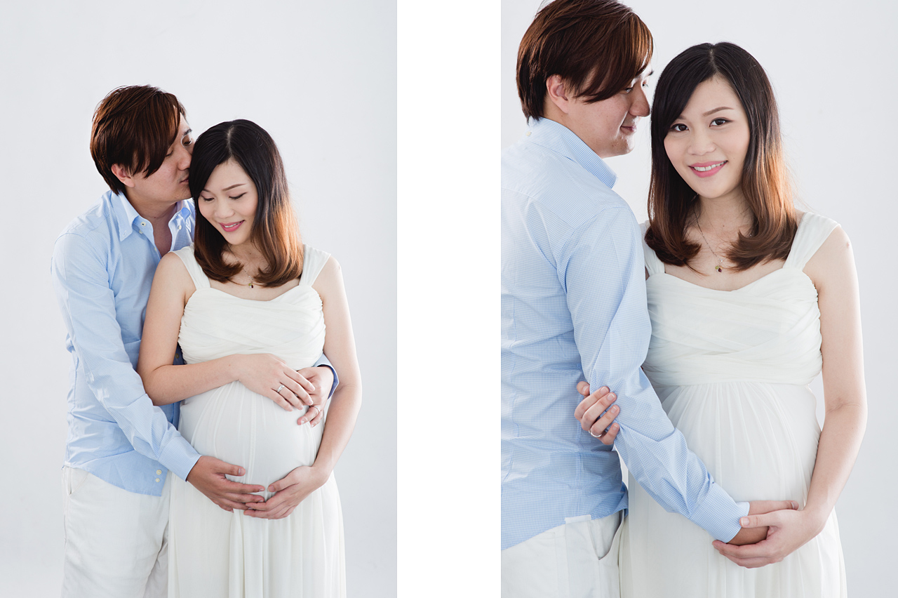 Pei Lin's Maternity Portrait Photography