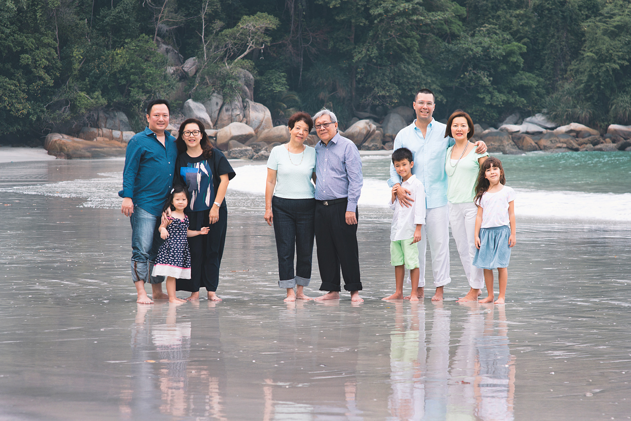 Family Portrait Photography at Pangkor Island