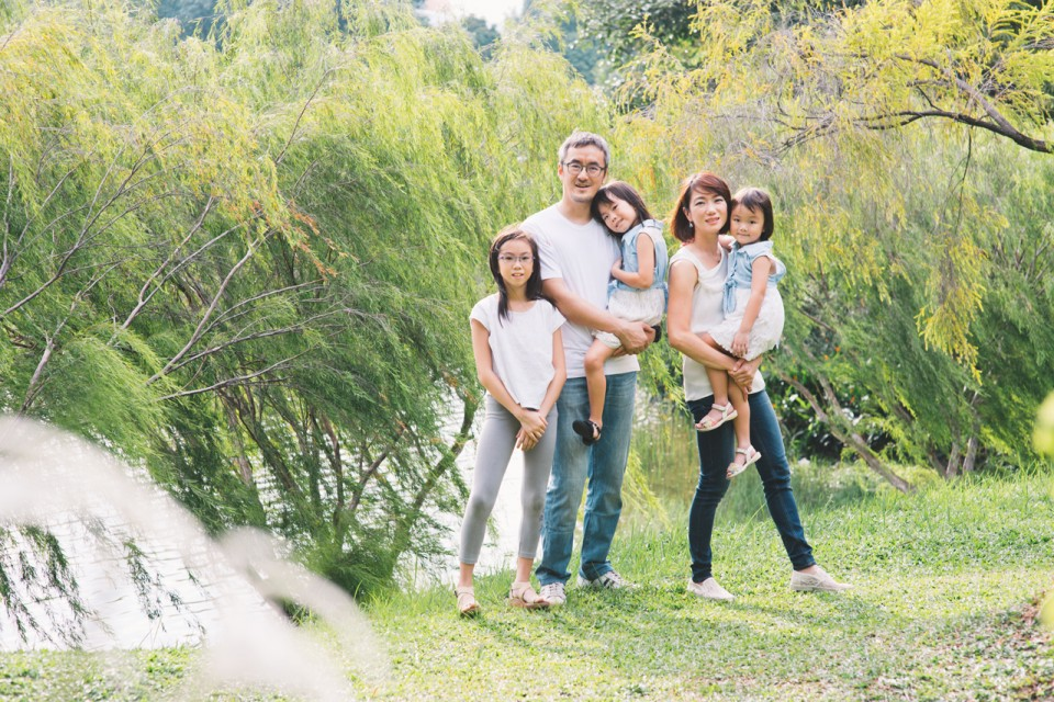 Kah Yi Family Portrait Photography