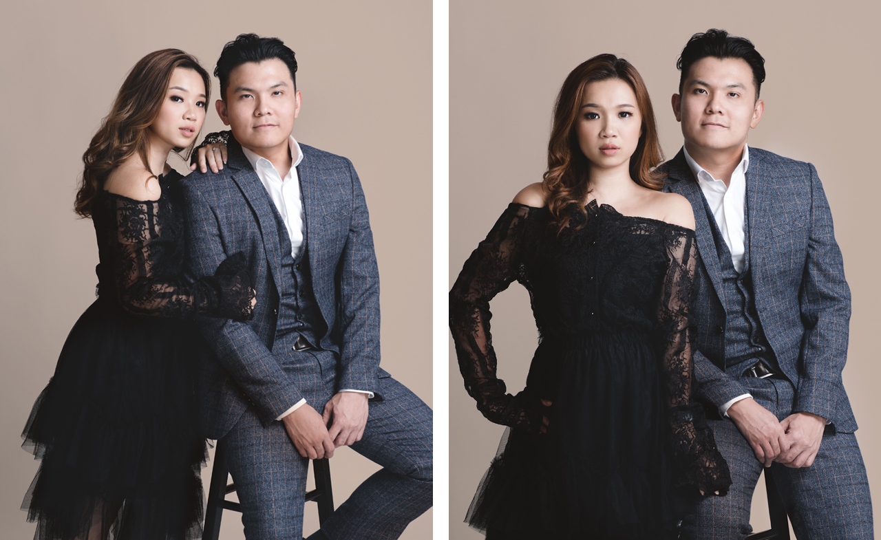 Couple Studio Portrait Photography