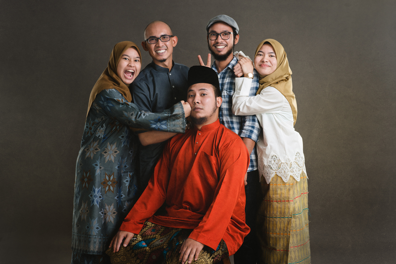 Haziq & Family Portrait