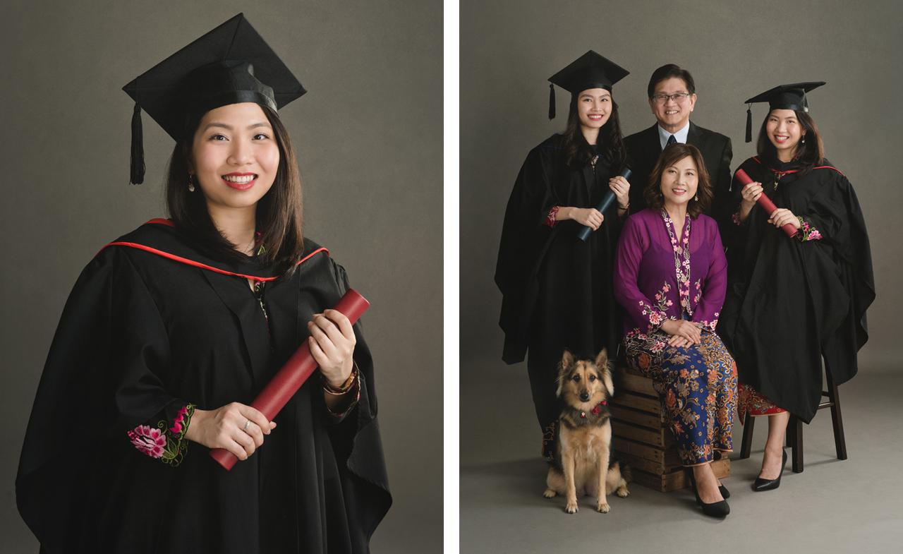 graduation portrait package