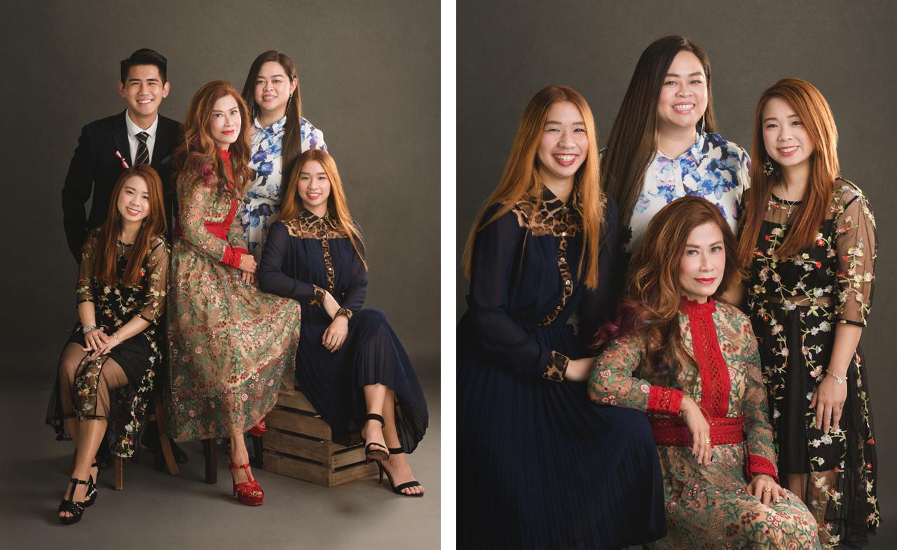 Graduation & Family Portrait