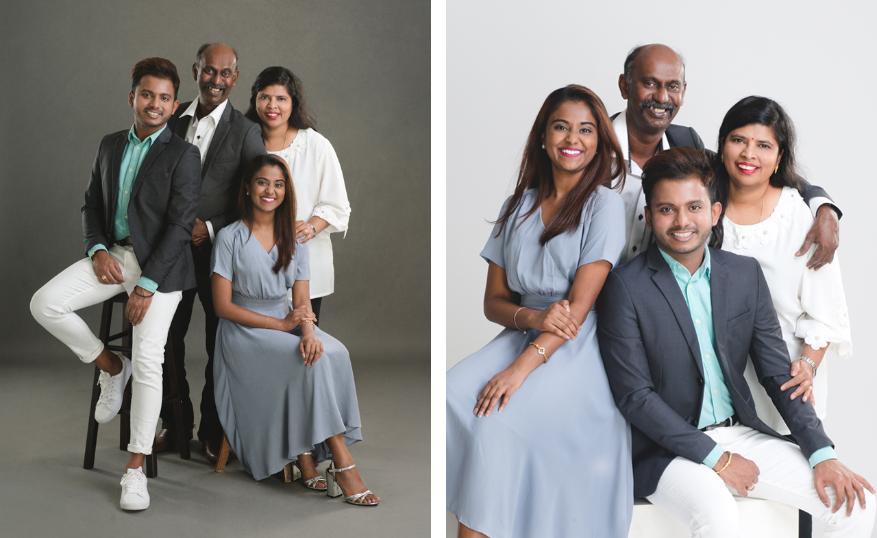 Family Portrait by Glance Photography Studio