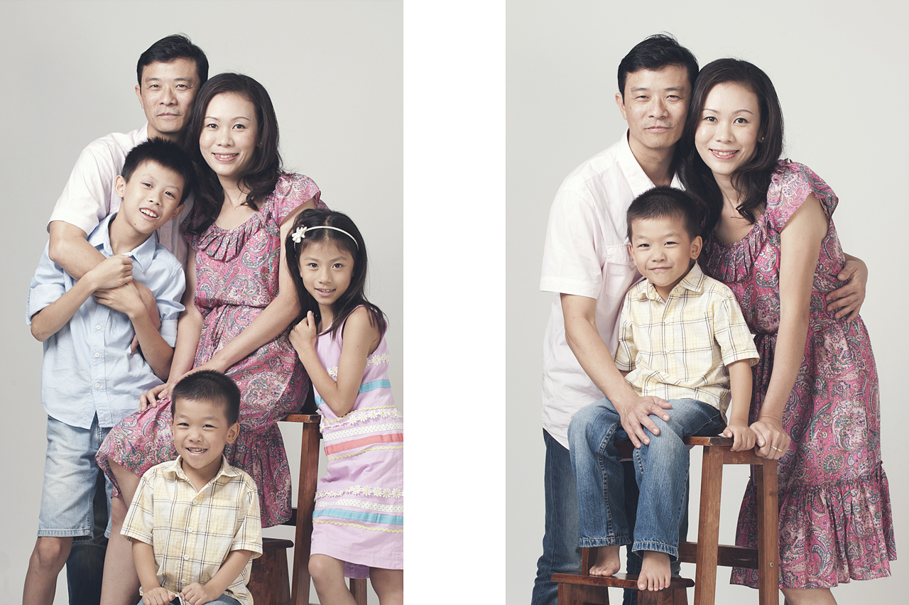 Family portrait by Glance Photography Studio