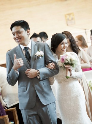 Actual day wedding - Melvin & April by Glance Photography Studio