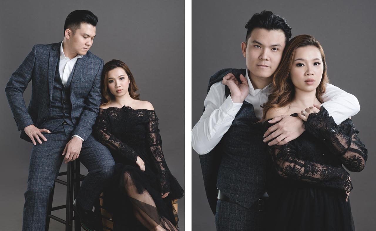 Couple Studio Portraits Photography