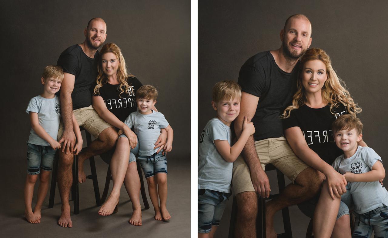 Jenny & Family Portrait