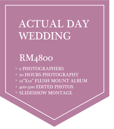Actual Day Wedding
